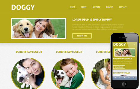 Free Mobile Website Templates Designs - w3layouts.com | Template & Webdesign | Scoop.it