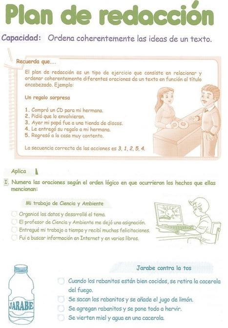 Plan de Redacción para niños 5° Grado Primaria   Razonamiento ...   RECURSOS EDUCATIVOS   Scoop.it