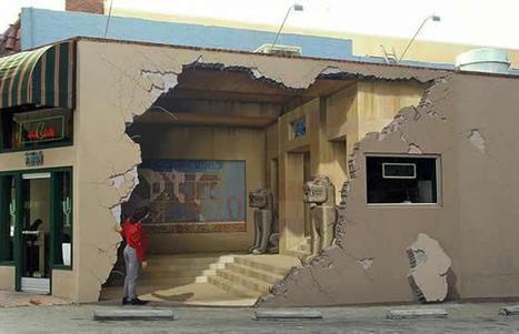 3d Murals by John Pugh | Oddity Central - Collecting Oddities | Exam work | Scoop.it