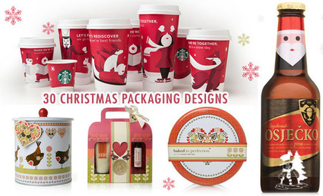 30 Creative Christmas themed Packaging Design examples   Sharing Inspiration K7Media   Scoop.it