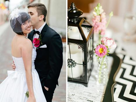 A Romantic Rooftop Wedding Filled With Black ... - Bespoke-Bride | EA Bridal Design | Scoop.it