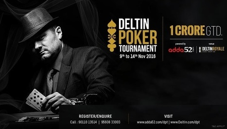 Live Coverage - Poker Tornaments India | Online Poker News | Web News | Scoop.it