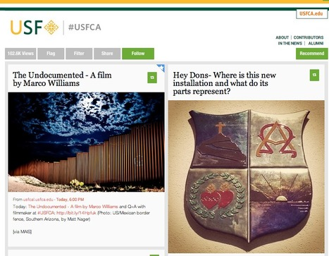 #USFCA | Showcase of custom topics | Scoop.it