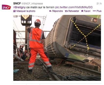 Brétigny et les réseaux sociaux : les médias traditionnels restent des références et la SNCF joue la transparence | CommunityManagementActus | Scoop.it