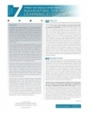 7 Things You Should Know About Navigating the New Learning Ecosystem | EDUCAUSE.edu | Higher Ed Technology | Scoop.it