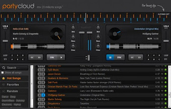 PartyCloud, mesclador de música online! | tetri rap | Scoop.it