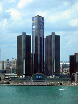 Renaissance Center - Wikipedia | Detroit | Scoop.it