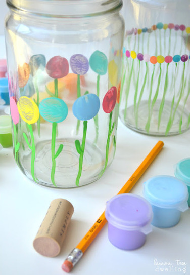 Lemon Tree Dwelling: Mother's Day Vases {for little hands} | Creativity | Scoop.it