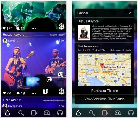 Apploud Is Like An Instagram For Live Music Where Musicians GetPaid | SquishClip | Scoop.it