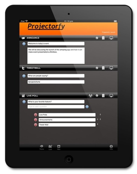 Projectorfy for iPad | Digital Presentations in Education | Scoop.it