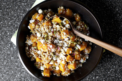butternut squash salad with farro and pepitas | smitten kitchen | À Catanada na Cozinha Magazine | Scoop.it
