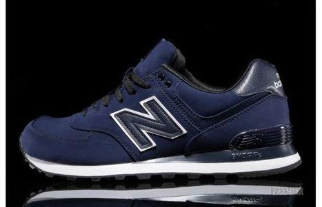 "New Balance 574 ""Navy/Black"" | Design | Scoop.it"