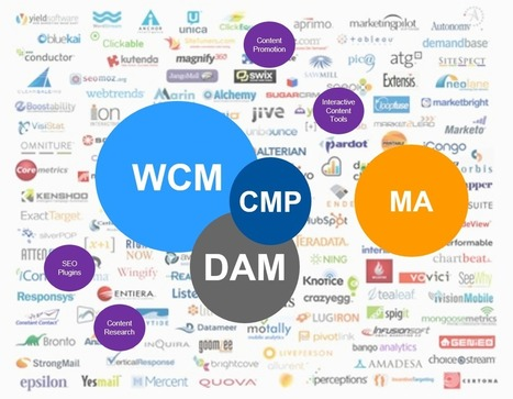 What's in a Content Marketing Stack? [WCM, DAM, CMP, etc] via @Gartner | Digital Transformation of Businesses | Scoop.it