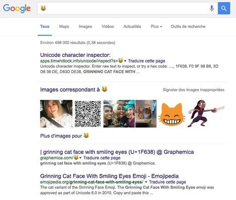 Google permet la recherche par emoji � � - Actualité Abondance | digitalcuration | Scoop.it