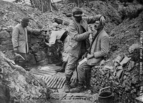 «Le poilu, l'une des figures les plus œcuméniques  du XXesiècle», Nicolas Offenstadt - Libération | Sciences et Guerre | Scoop.it