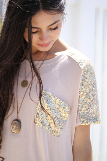glittered pocket top | Online shopping store | Scoop.it