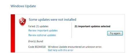 FIX: Update Error Code 80244018 in Windows 10 - PC Error Repair Solutions n Guide   Fix Windows Error   Scoop.it