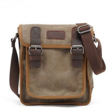 sturdy canvas shell crossbody bag for ipad by Distressed backpack & messenger bag | Collection of backpack | Scoop.it