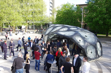 ICD/ITKE Research Pavilion 2013: Opening « Institute for Computational Design (ICD) | Digital Fabrication | Scoop.it