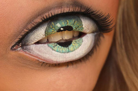 Freaky Lip Art by Sandra Holmbom | Picture This. | Scoop.it