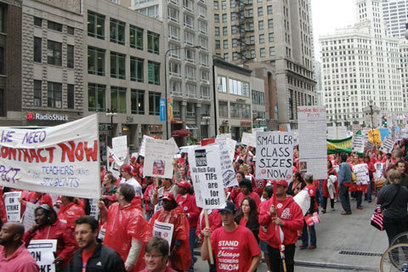#US: Without final contract, #Chicago Teachers Union pushes for end to strike | Revolutionary news | Scoop.it