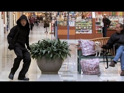 Fugitive Transforms Into Mannequin- Just For Laughs Gags | Money | Scoop.it