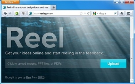Share PowerPoint Presentations Online With Reel Web App | Digital Presentations in Education | Scoop.it