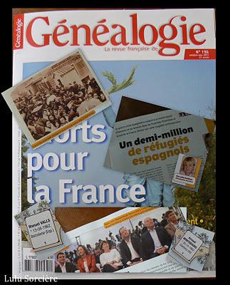 Lulu Sorcière Archive: Lulu a lu La Revue Française de Généalogie Octobre 2011- | GenealoNet | Scoop.it