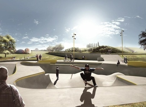 Ingenious Infrastructure: A Skatepark That Prevents Flooding | green streets | Scoop.it