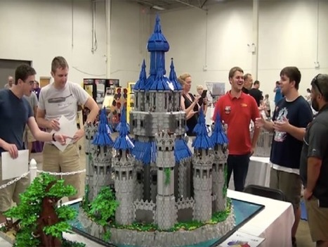 Un fan de Zelda reproduit le château d'Hyrule en Lego | HiddenTavern | Scoop.it
