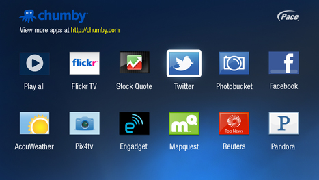 Pace, Chumby Bring Internet Apps to TV | TV Everywhere | Scoop.it