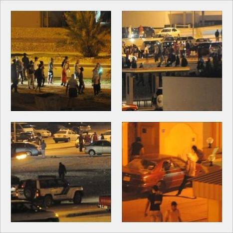 "Are Police Allying with civilian ""Thugs"" For Attacks in Bahrain? 