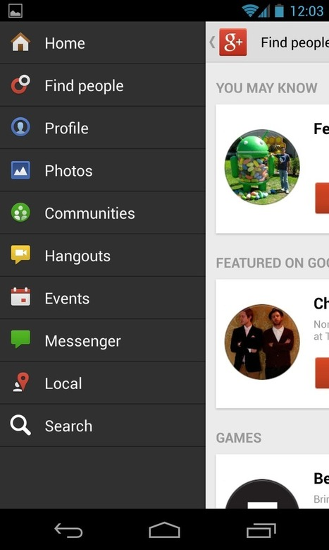 Google Plus Daily: Reason #1 to Make The Switch: Google+ for Android | Google+1 | Scoop.it