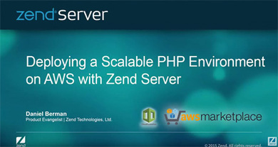 Zend Server for Amazon Web Services (AWS) | Digital Transformation - DevOps, Aws, Cloud and Application Modernization | Scoop.it