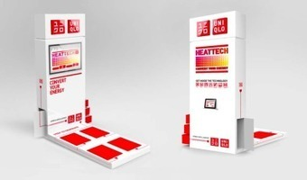 Uniqlo UK pushes Heattech line with kinetic energy game | Fashion and Marketing | Scoop.it