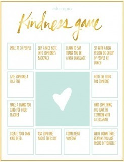 The Kindness Game | Edutopia | Cool School Ideas | Scoop.it