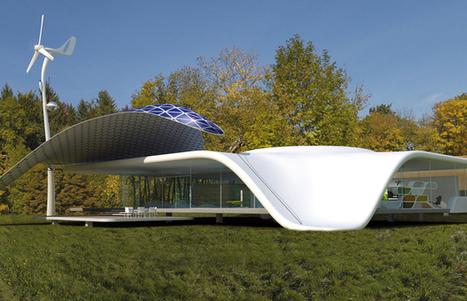 La go lette tara repart pour une aventur for Architecture futuriste ecologique
