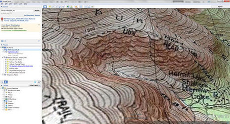 Appalachian Mountain Club's Equipped: How to Add USGS Topographic Maps to Google Earth   #GoogleEarth   Scoop.it
