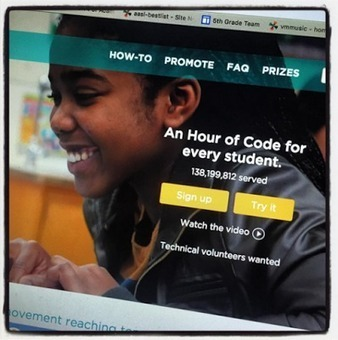 The Library Voice: Hour Of Code from Code.org Is Right Around The Corner....Sign Up & Check Out All Of The Awesome Resources Today! | Transliteracy Network | Scoop.it