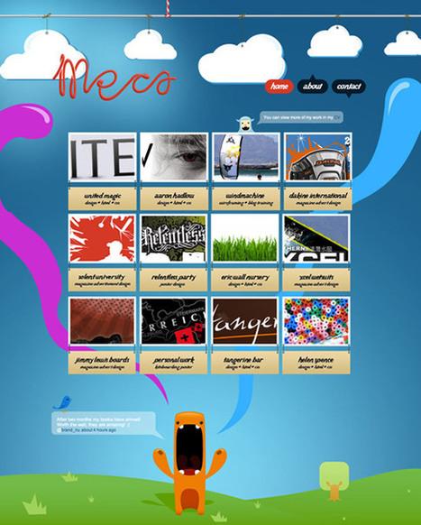 Creating an Effective online Portfolio: 40+ Tips, Tools & Inspirations | Website stuff | Scoop.it