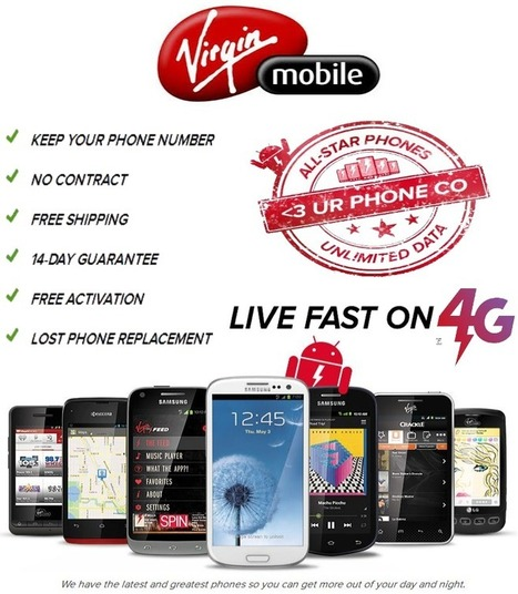 Cheapest Unlimited Data Plans 2014 By Virgin Mobile Plans | Cell phone plans | Scoop.it