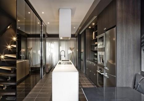Block Townhouse Interior by Cecconi Simone | Kitchen and Bath Materials | Scoop.it