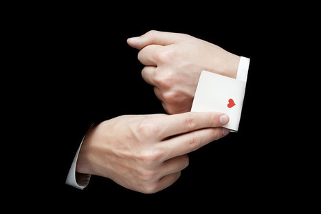 A Magician's Best Trick: Revealing a Basic Human Bias | Wizards | Scoop.it