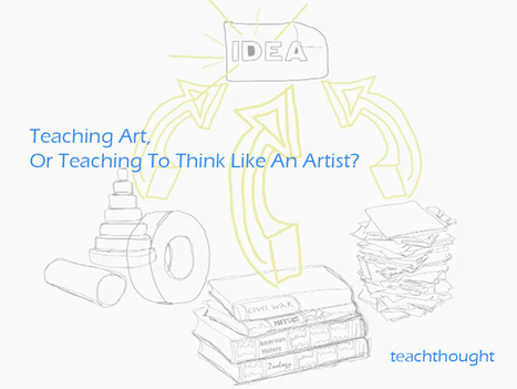 Teaching Art, Or Teaching To Think Like An Artist? | Teaching Creative Writing | Scoop.it