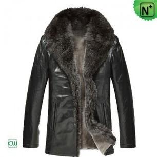 Black Raccoon Fur Coat Mens CW86888 | Men's | Scoop.it