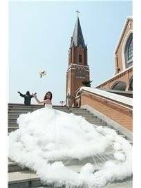 $ 471.99 Luxurious Sweetheart Empire Floor-Length Wedding Dress | Fashion ladies | Scoop.it