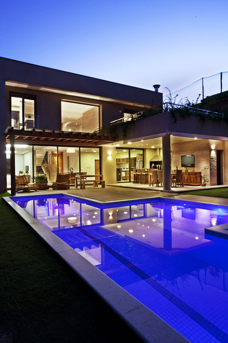 Residencia DF by Pupo Gaspar Arquitetura | Tips and hits | Scoop.it