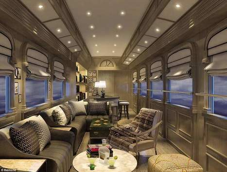South America's first luxury sleeper train in images | Railway anthology | Scoop.it