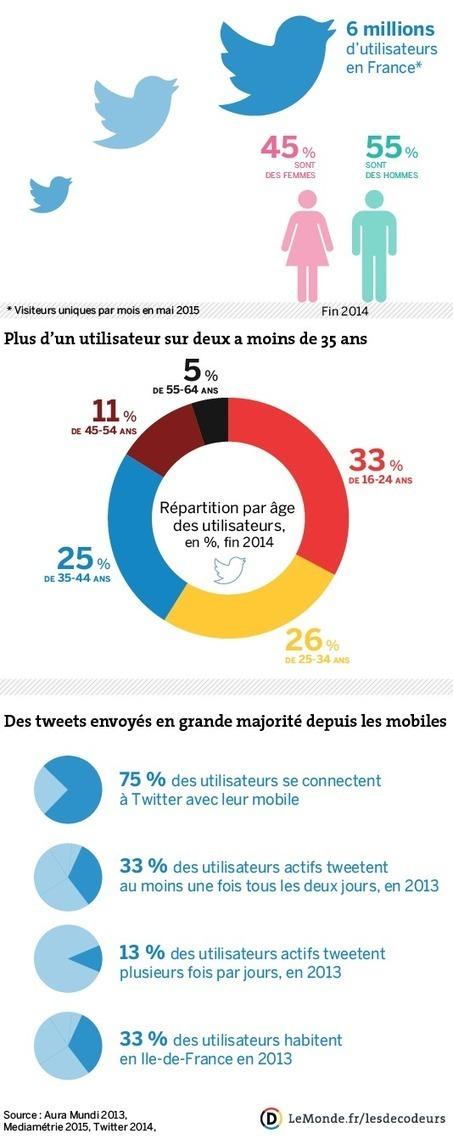 Qui sont les utilisateurs français de Twitter? | Quatrième lieu | Scoop.it