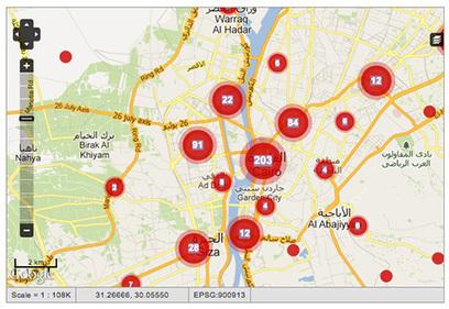 Harassmap.org, quand les Egyptiennes localisent leurs agresseurs | Libertés Numériques | Scoop.it